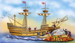 Mayflower Float